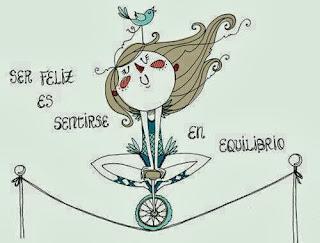 Ser feliz es sentirse en Equilibrio