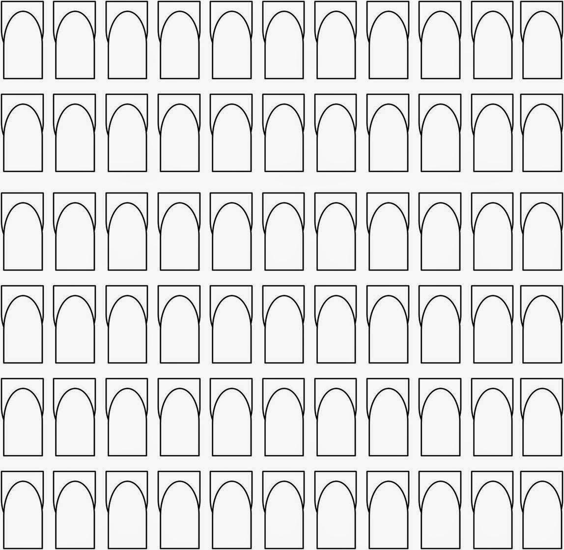 Figura 1En color blanco para que puedan practicar diseños ya sea líneas,  animal print, One Stroke donde el color oscuro va para afuera ejemplo las