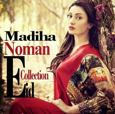 Madiha Noman Exclusive Eid Dress Designs 2014 | Designer Dresses