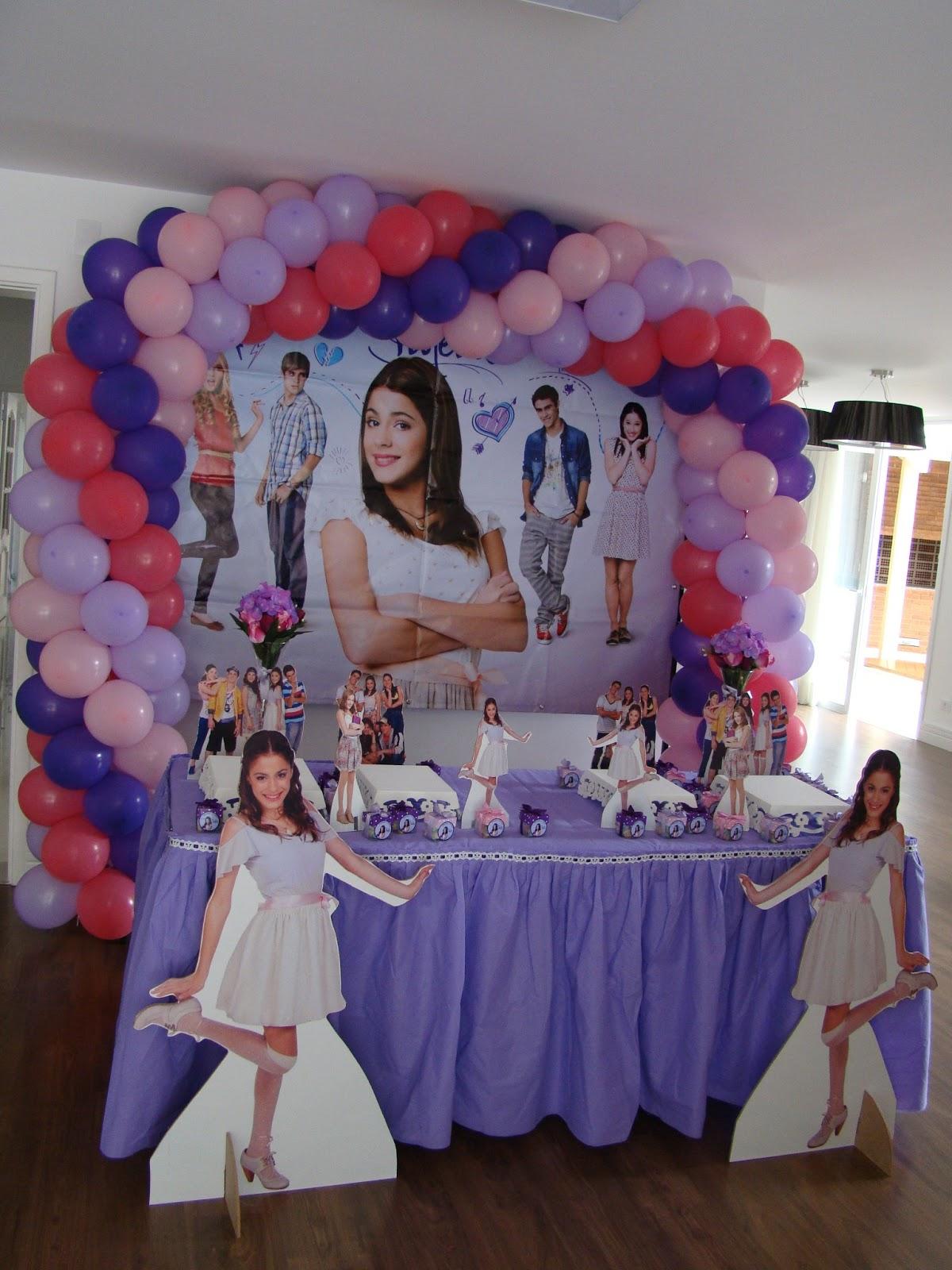 Lu Felisbino Festas Afetivas: Festas da Violetta