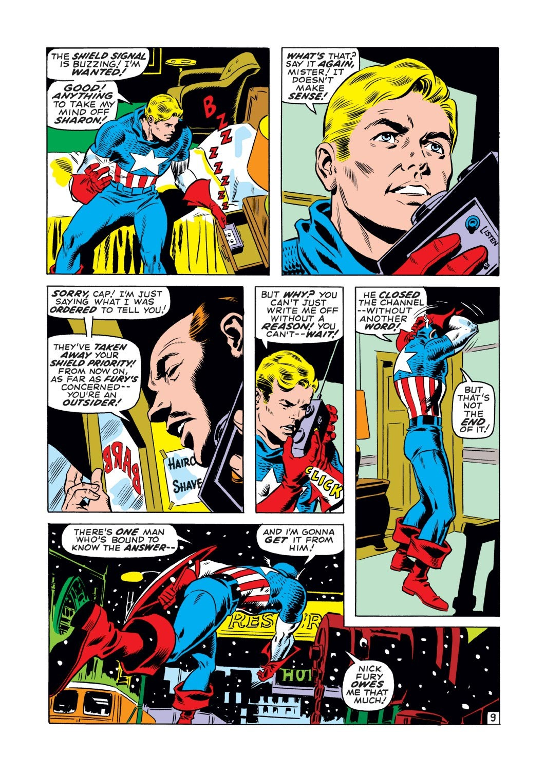 Captain America (1968) Issue #127 #41 - English 10