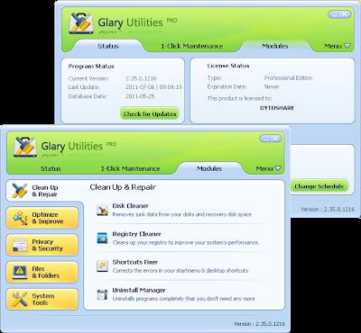 Glary Utilities PRO 2.35 Full Version