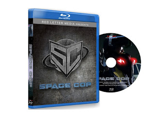 Space Cop Blu Ray