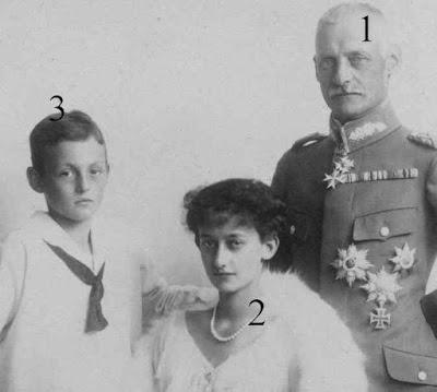 Rupprecht, Antonia et Albrecht de Bavière