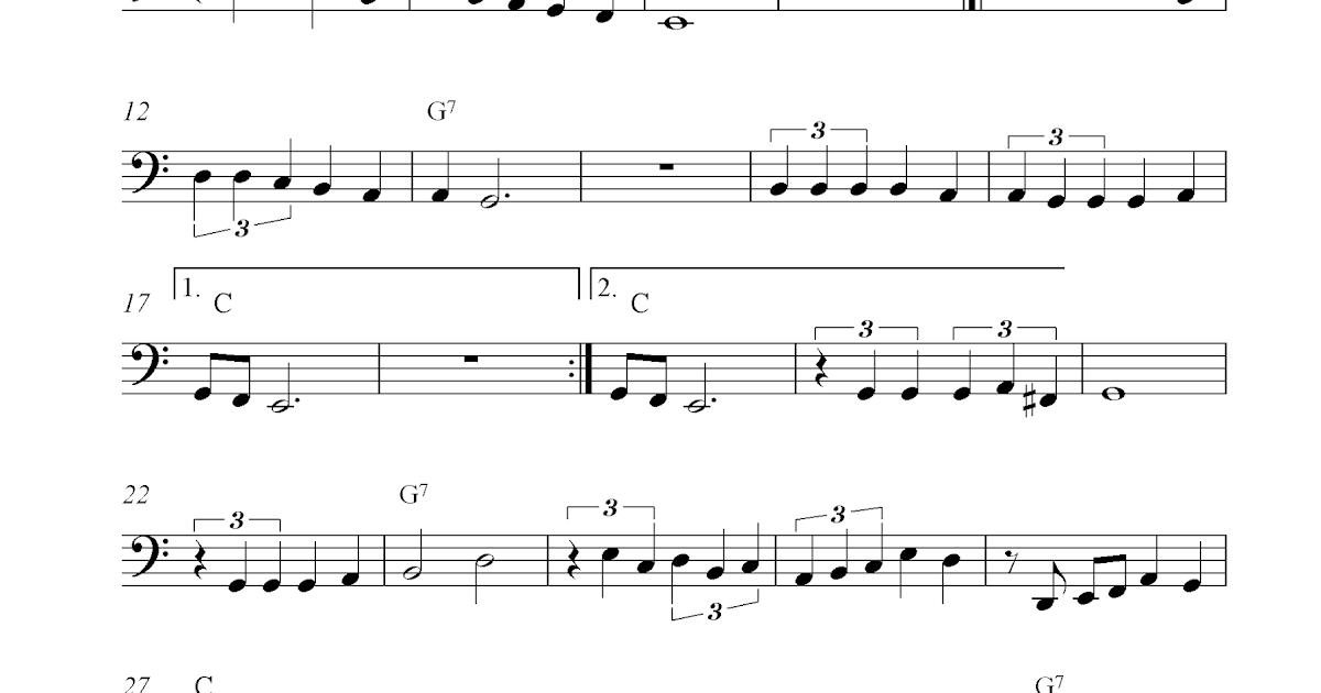 La Paloma Free Cello Sheet Music Notes
