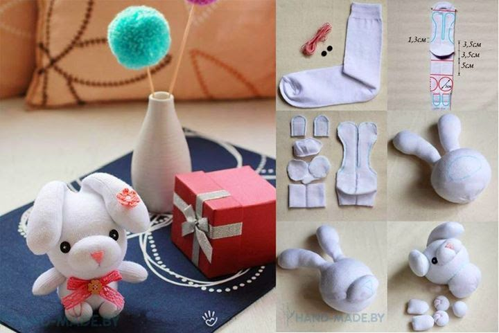 Dolls With Socks Step By Step Tutorial