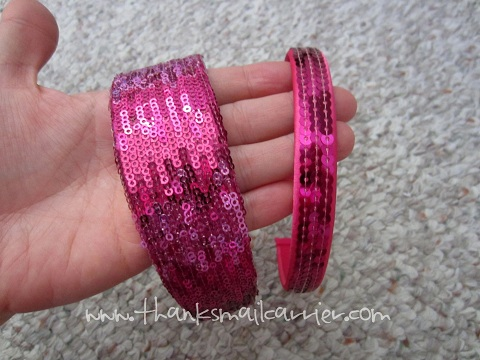 sequin headbands