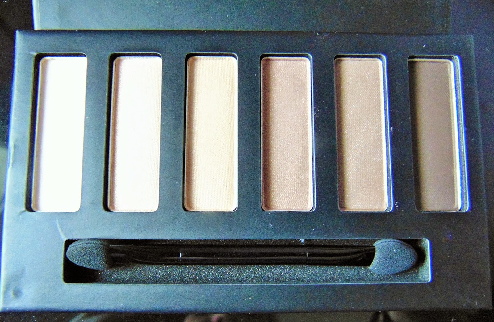 collection eyes uncovered nude palette review