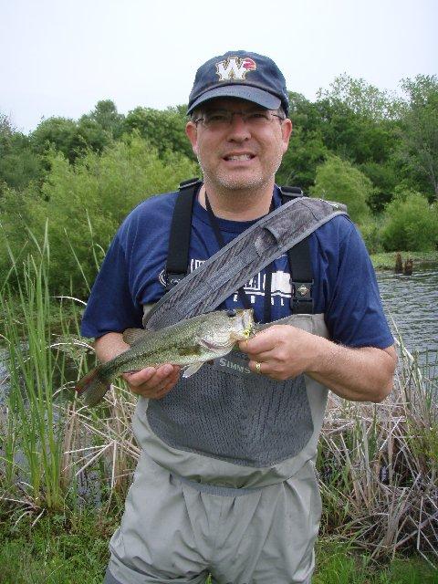 Fly rod nimrod okie pond fishing for Scott and white fish pond