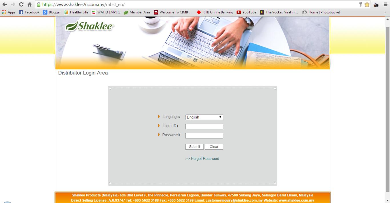 shaklee online, page online