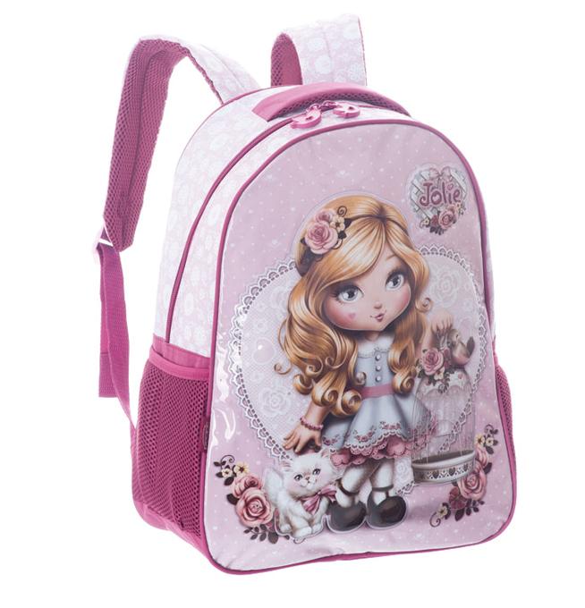 Bolsa Escolar Feminina Infantil : Bolsa feminina mochila escolar estudante car interior design