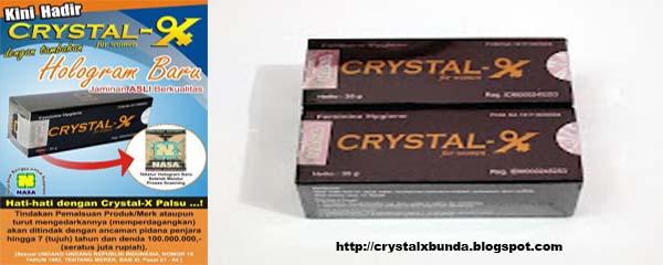 Hati-hati dalam Membeli, Pilih Crystal X Dengan Hologram Ganda
