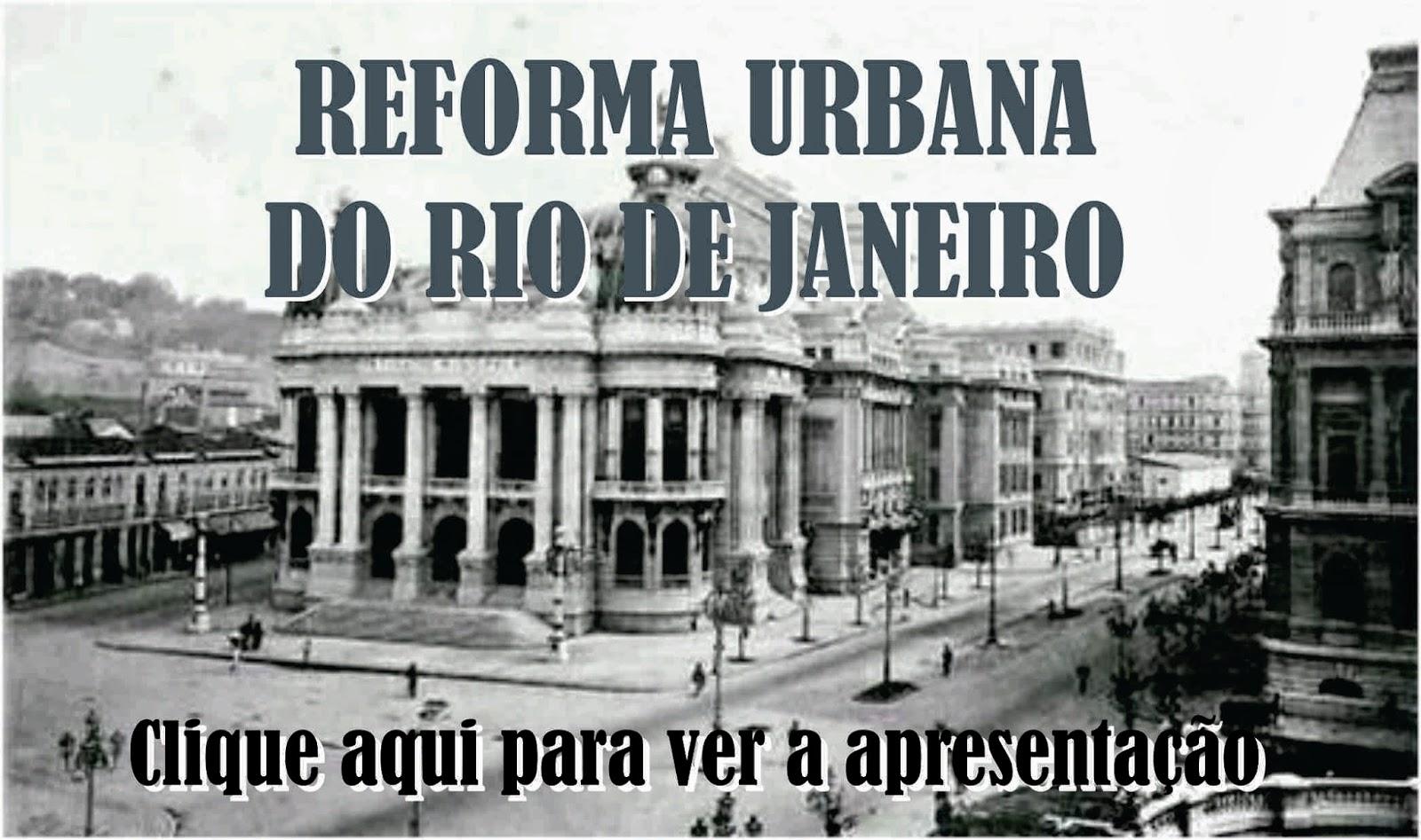 Reforma Urbana do Rio de Janeiro