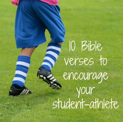 While I'm Waiting...10 Bible verses to encourage your student-athlete