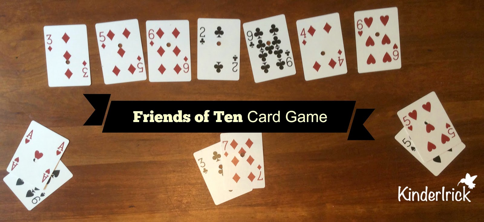 Making 10 with cards