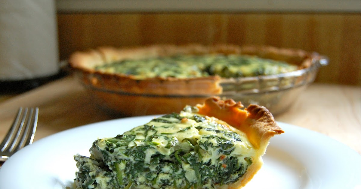 Much Kneaded: Spinach and Goat Cheese Quiche