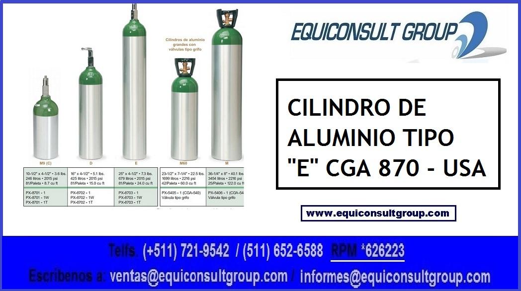 CILINDROS DE OXÍGENO