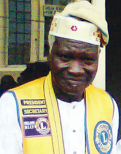 Late Mr. Olajide Daramola