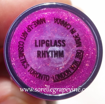 MAC Temperature Rising Lipglass Rhythm