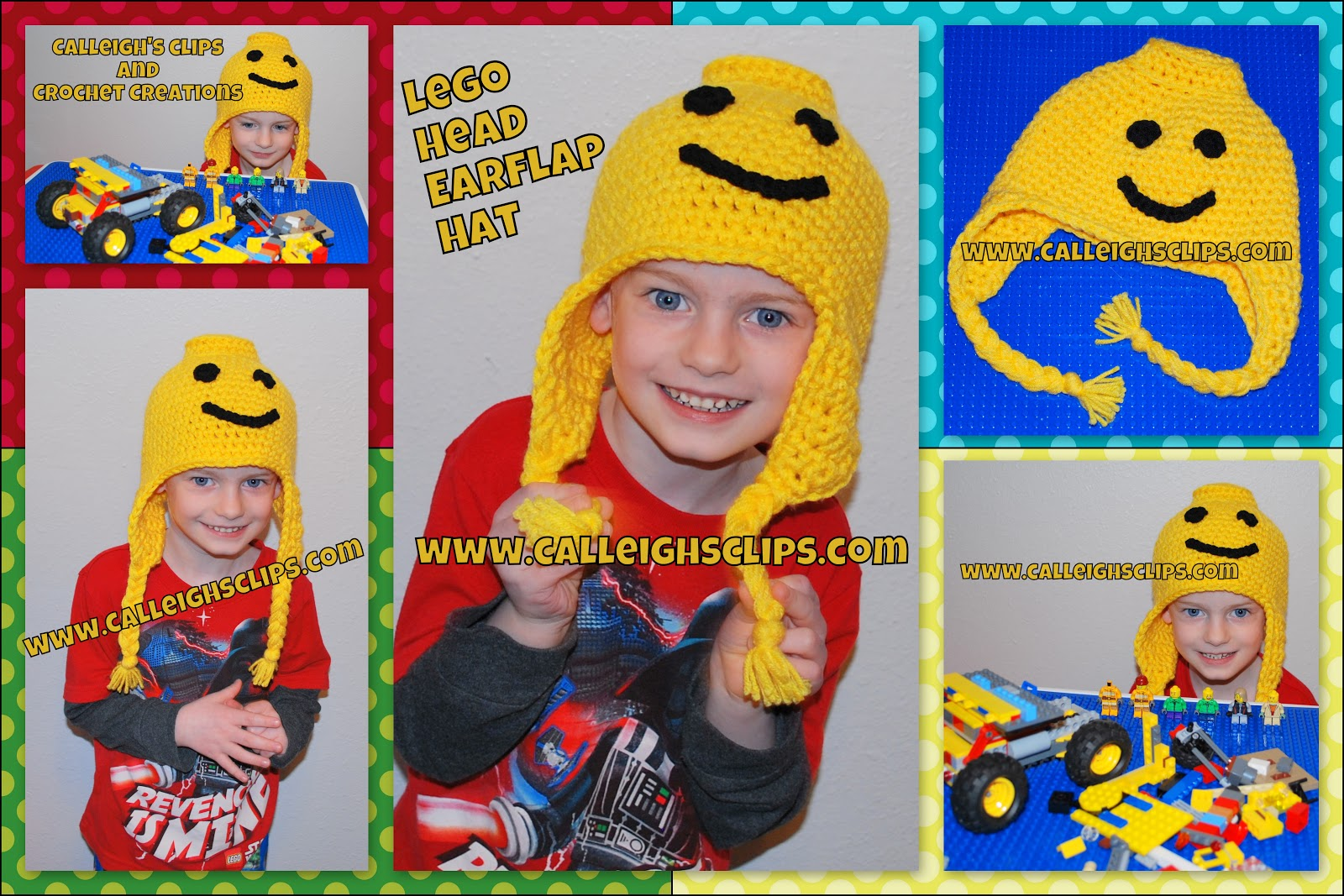 Calleighs clips crochet creations lego head earflap hat free i have done my best to keep my patterns simple and easy to understand if at any time you need assistance please feel free bankloansurffo Gallery