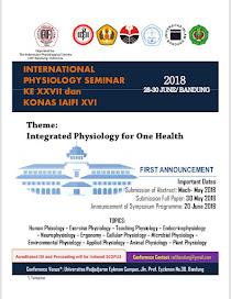 INTERNATIONAL PHSYIOLOGY SEMINAR KE XXVII & KONAS IAIFI XVI