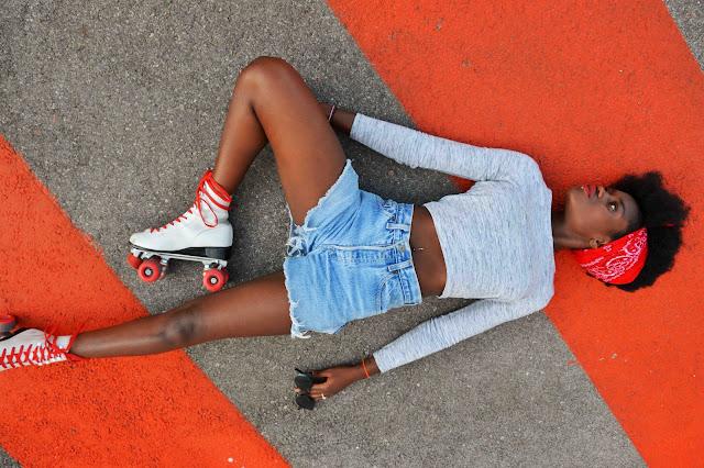 blog mode, blog mode afro, short taille haute, crop top, Afro