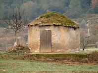 La barraca de vinya dels camps de Sant Benet