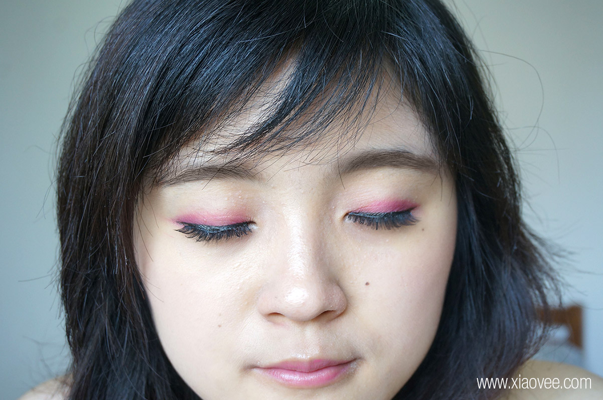Valentine k-pop makeup look