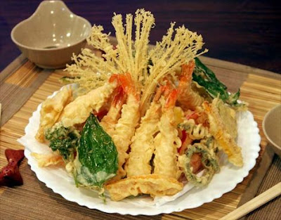 Comida japonesa- Tempura