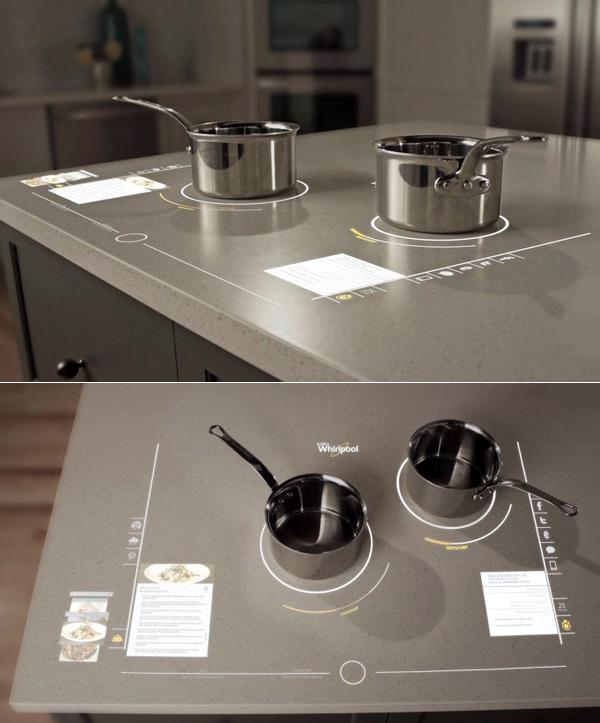 Futurix cucinare nel futuro con whirlpool - Cucinare con induzione ...