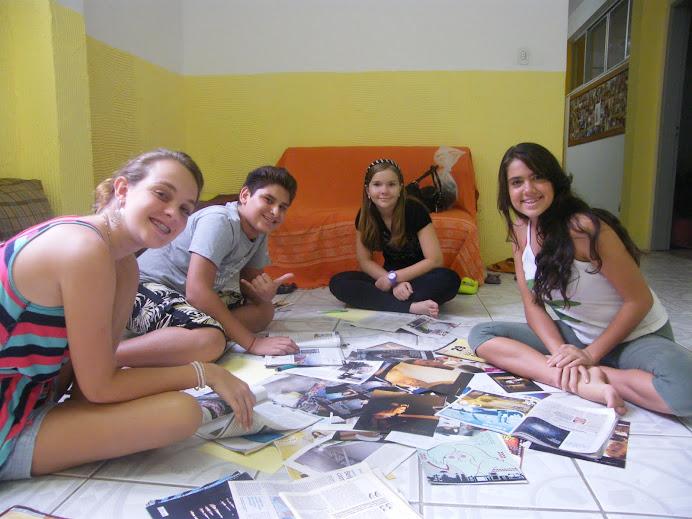 TURMA DE ADOLESCENTES DA CAP