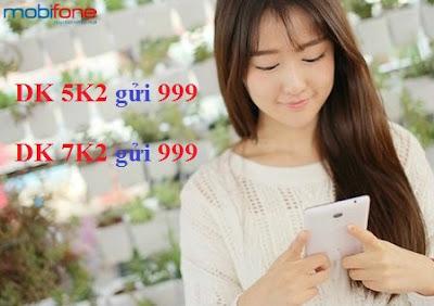 Mobifone tặng gói thoại K2 cho thuê bao trả trước