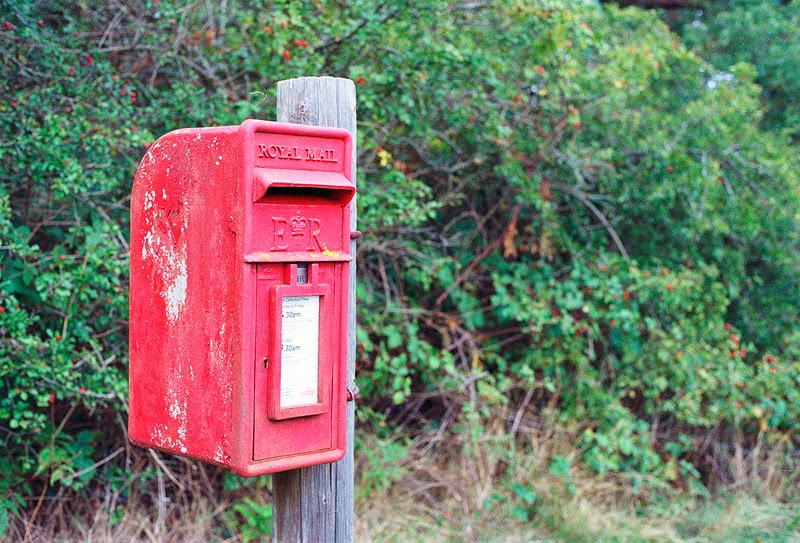 Old postbox