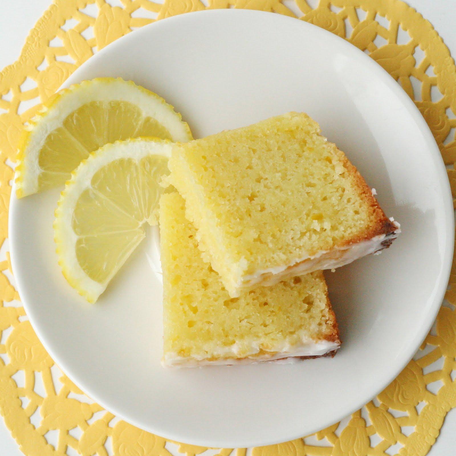 Lemony Lemon Bread – Glorious Treats