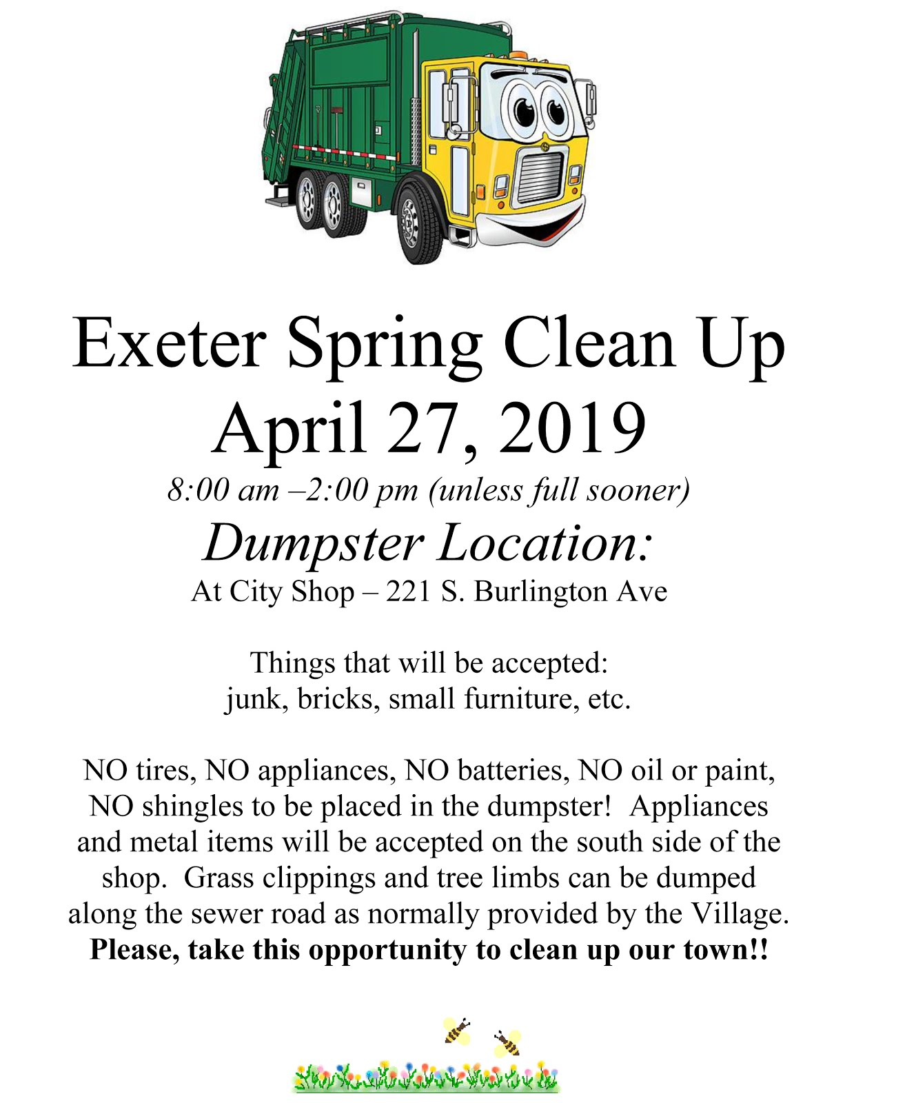 Exeter Spring Clean Up
