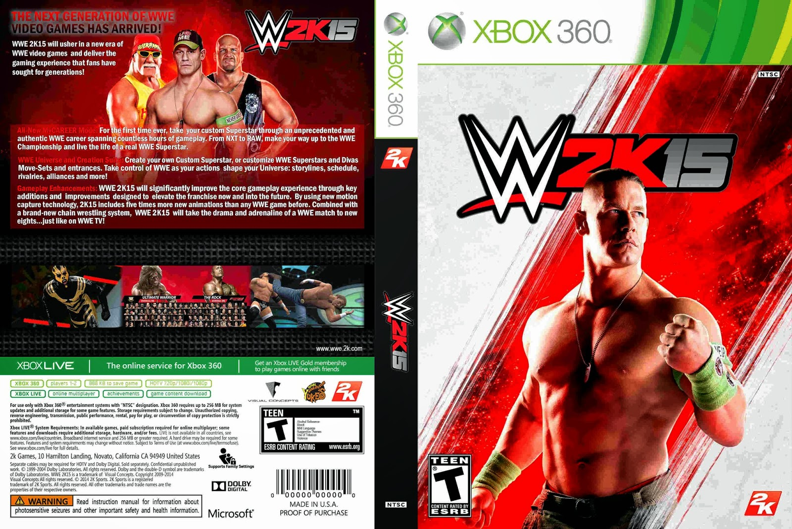 forest of games wwe 2k15