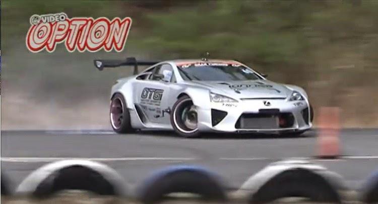 Watch Yoichi Imamura S Lexus Lfa Drift Car In Action