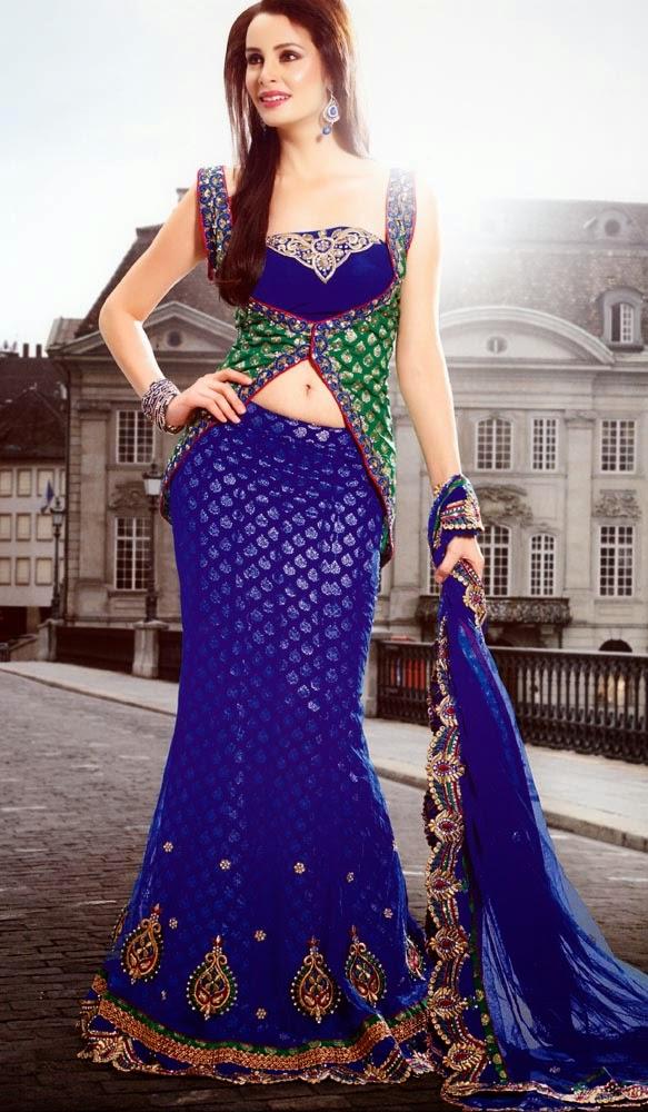 Party Wear Sarees Collection 2015 - Pakistani Fashion,Indian Fashion ...