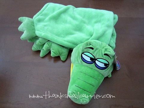 CuddleUppets crocodile