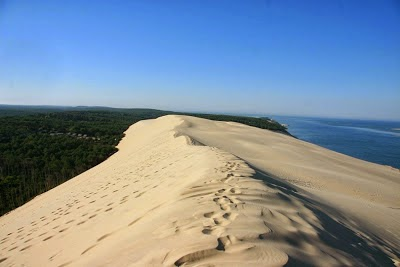 Gurun Pasir Yang Boleh Bergerak di Perancis