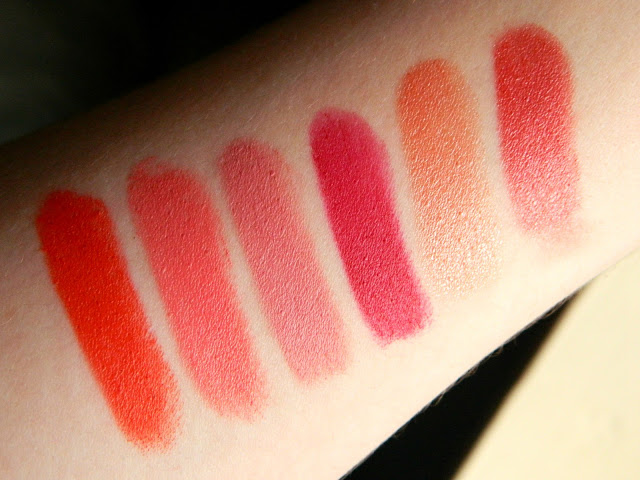 Rimmel London Lipstick Collection Swatches Belle-amie