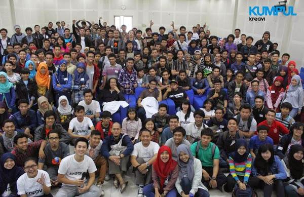 Kumpul Kreavi 9, komunitas Semarang