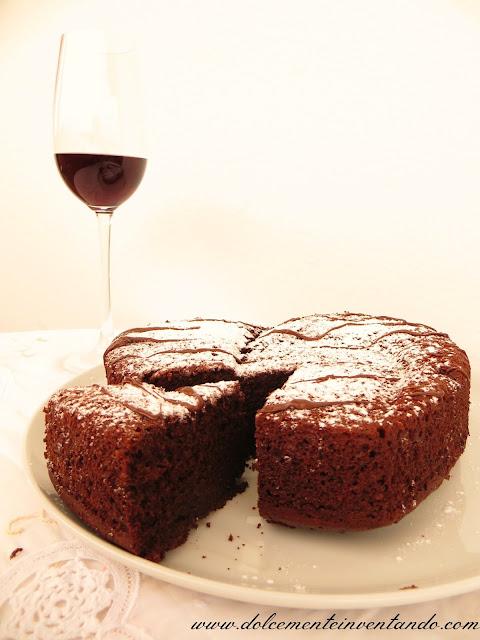 torta al cioccolato e vino rosso...un dolce divino!