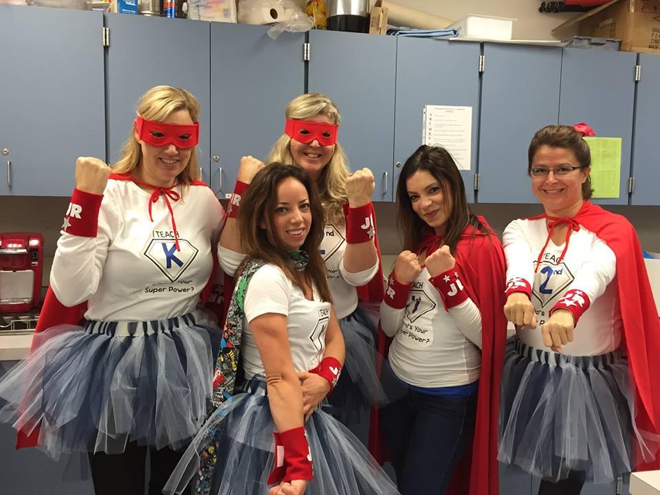Teacher Superhero Costumes