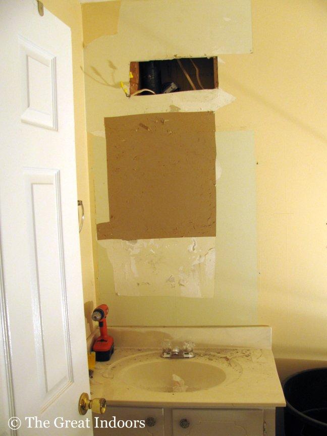 Guest Bathroom: Drywall, Oh Drywall