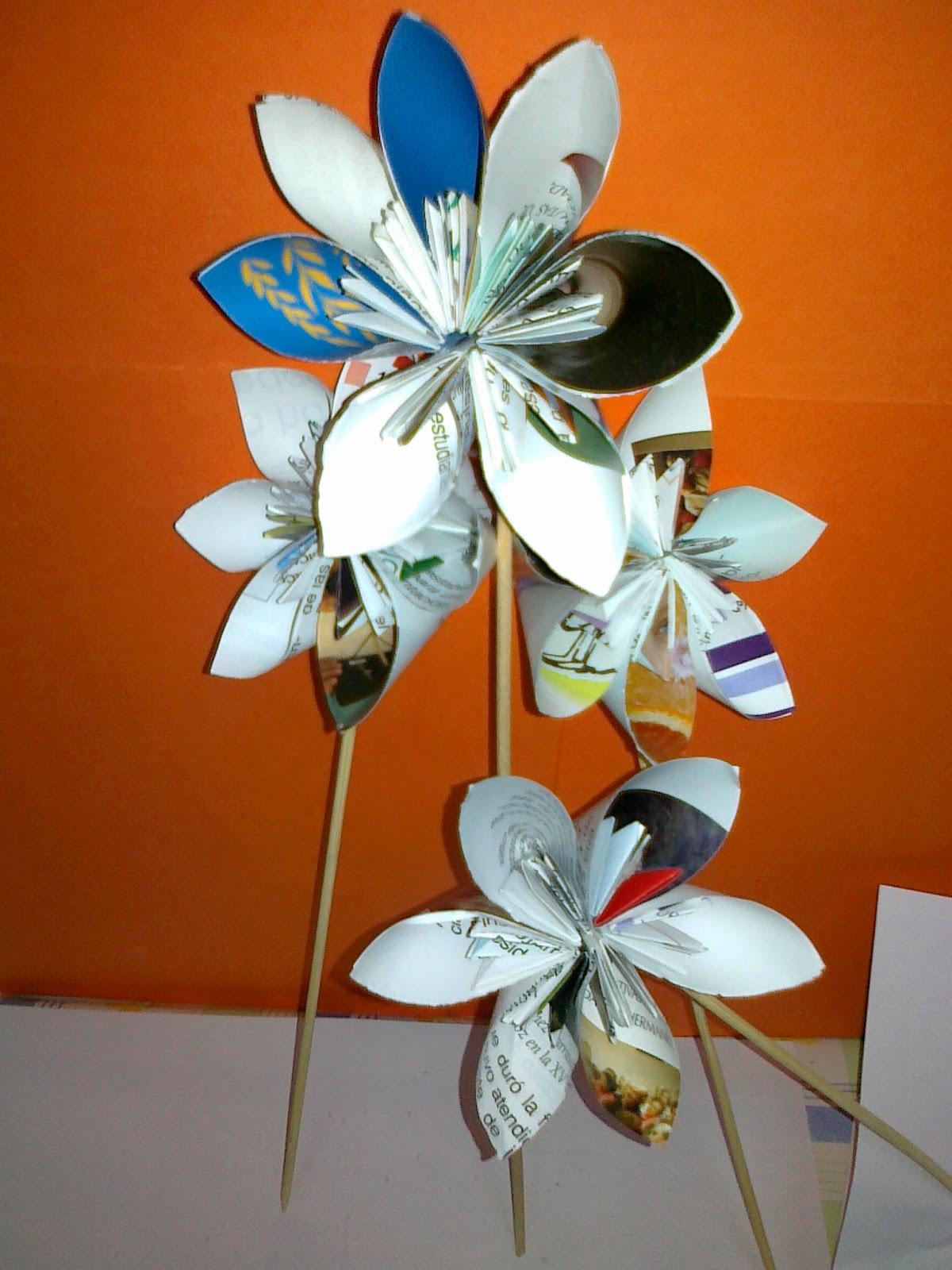 Manoli y sus manualidades papel reciclado picture to pin - Manualidades de papel reciclado ...