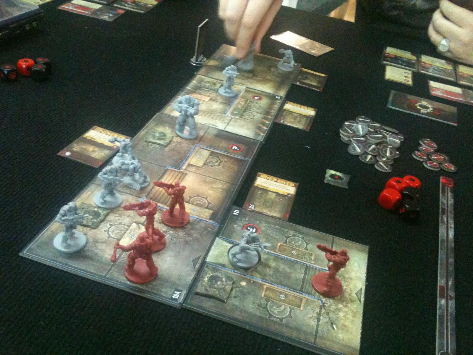 El blog de quique probado gears of war el juego de for Gears of war juego de mesa