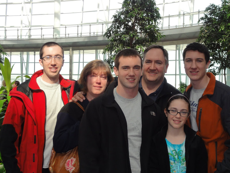 Good-Byes at Indy Airport