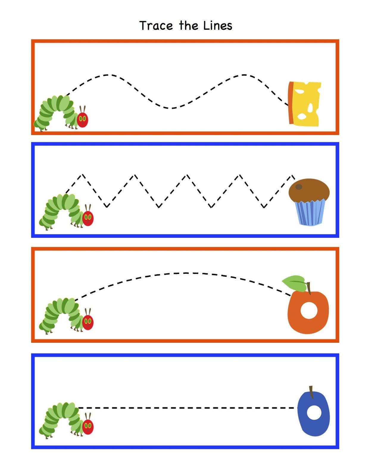 Line Art For Kindergarten : Preschool printables february