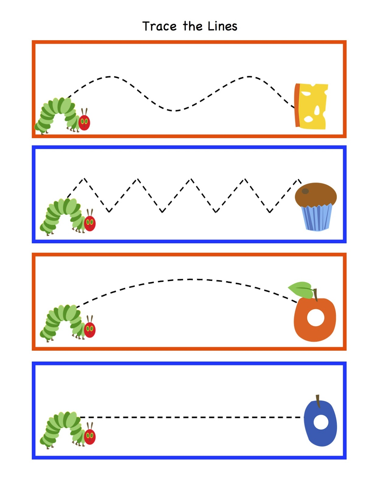 Drawing Lines For Preschool : Preschool printables february